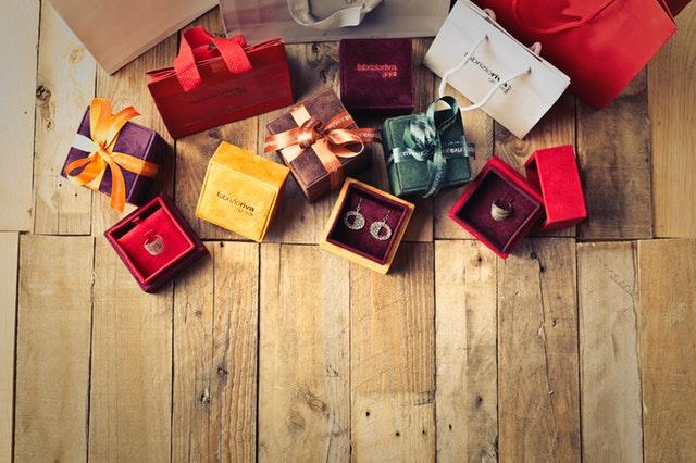 Škatuľky so šperkmi