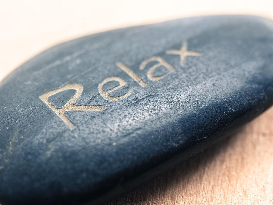 relax, kameň